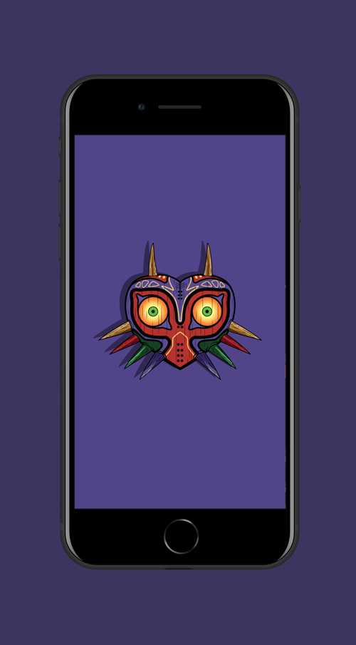 Mockup iPhone Majora's Mask